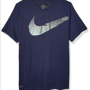 Nike Men's Dry Tee Dri Fit Cotton Swoosh Energy
